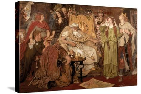 Cordelia's Portion, 1866-Ford Madox Brown-Stretched Canvas Print