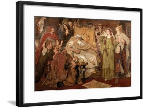 Cordelia's Portion, 1866-Ford Madox Brown-Framed Art Print