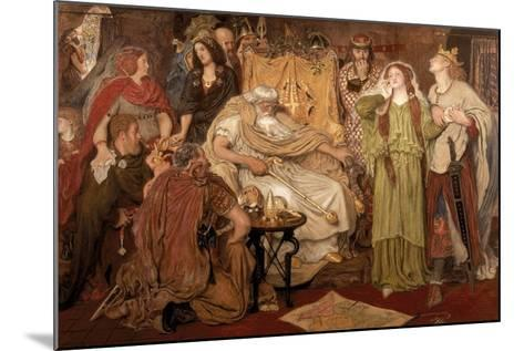 Cordelia's Portion, 1866-Ford Madox Brown-Mounted Giclee Print