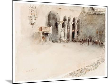 A Morning in St. Mark's-Robert Frederick Blum-Mounted Giclee Print