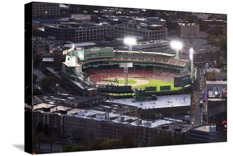 Fenway Park Baseball Ground in Boston, USA--Stretched Canvas Print