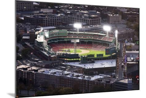 Fenway Park Baseball Ground in Boston, USA--Mounted Photographic Print