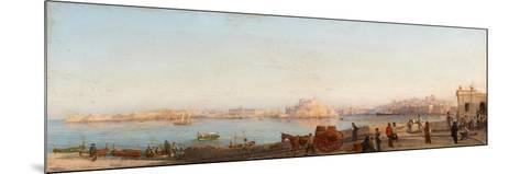 Valletta from Near Manoel Island-Giancinto Gianni-Mounted Giclee Print