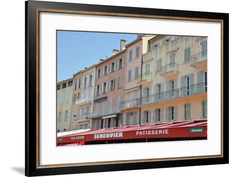 View of the Pastry and Tea Room 'senequier'--Framed Art Print