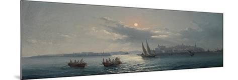 View of the Grand Harbour, Valletta, 1885-Giancinto Gianni-Mounted Giclee Print