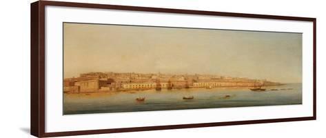 Grand Harbour, Valletta, 1869-Giancinto Gianni-Framed Art Print