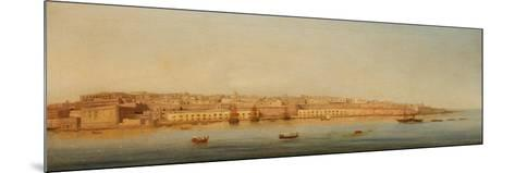 Grand Harbour, Valletta, 1869-Giancinto Gianni-Mounted Giclee Print