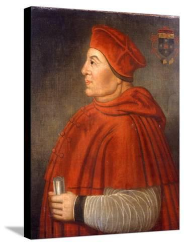 Portrait of Thomas Wolsey, Cardinal of York, C.1675--Stretched Canvas Print