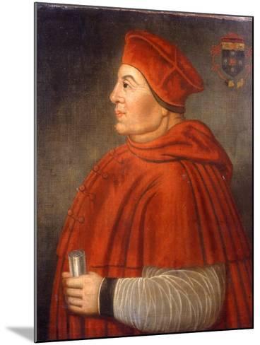 Portrait of Thomas Wolsey, Cardinal of York, C.1675--Mounted Giclee Print