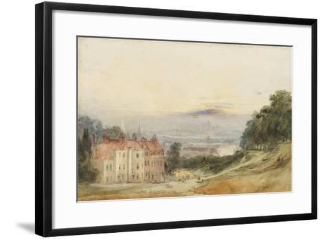 London from Blackheath-James Holland-Framed Art Print