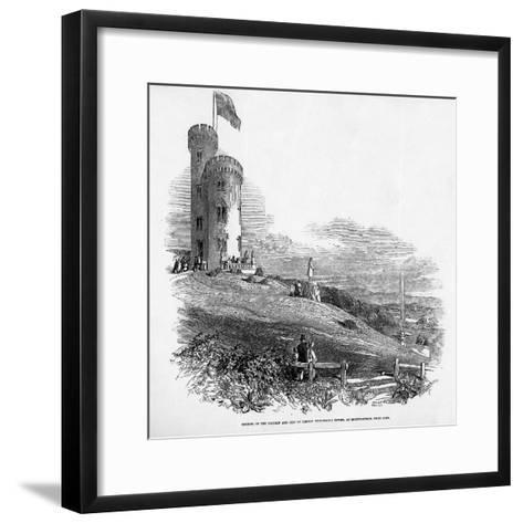 Opening of the Mathew and City of London Temperance Tower, at Mount Patrick, Near Cork, 1846--Framed Art Print