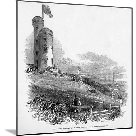 Opening of the Mathew and City of London Temperance Tower, at Mount Patrick, Near Cork, 1846--Mounted Giclee Print