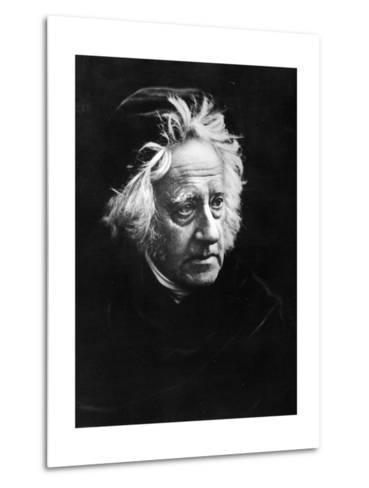 Sir John Frederick William Herschel, 1867-Julia Margaret Cameron-Metal Print