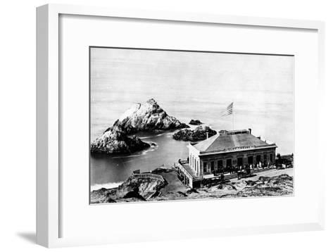 The Cliff House, San Francisco, C.1863-8--Framed Art Print