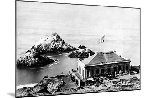 The Cliff House, San Francisco, C.1863-8--Mounted Photographic Print