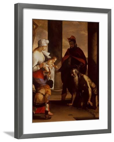 The Pardon of St. John Chrysostom, C.1640-Mattia Preti-Framed Art Print