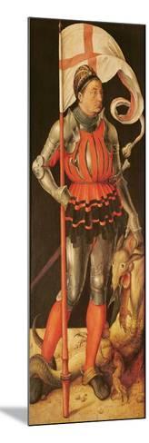 Stephan Paumgartner Portrayed as Saint George, Left Panel of the Paumgartner Altarpiece, C.1500-Albrecht D?rer-Mounted Giclee Print