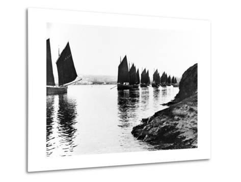 Regatta, Hayle Estuary, C.1890--Metal Print
