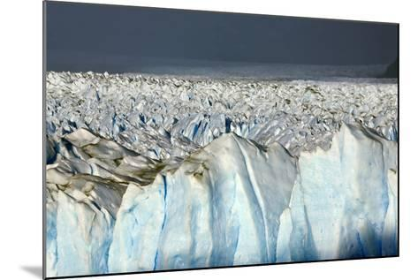 Detail of Glaciar Perito Moreno with Blue Ice Caverns--Mounted Photographic Print