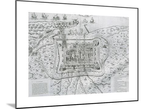 Capture of Calais from the English in 1558 by Francis De Lorraine, Duke of Guise (1558)--Mounted Giclee Print