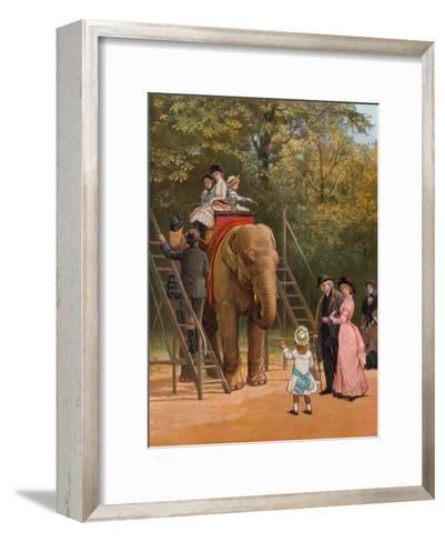 A Summer Holiday-Heywood Hardy-Framed Art Print