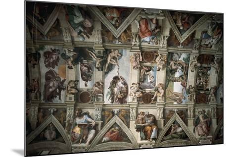 Michelangelo (1475-1564). Sistine Chapel (1508-1512). Ceiling--Mounted Giclee Print