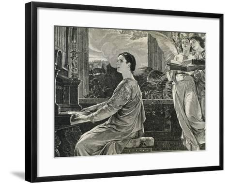 Saint Cecilia of Rome. 2nd Century A.C. Roman Martyr--Framed Art Print