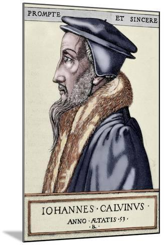 John Calvin (1509 1564). French Theologian and Pastor During the Protestant Reformation--Mounted Giclee Print
