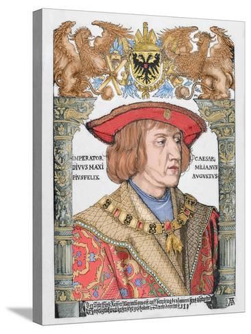 Maximilian I (1459-1519), Holy Roman Emperor--Stretched Canvas Print