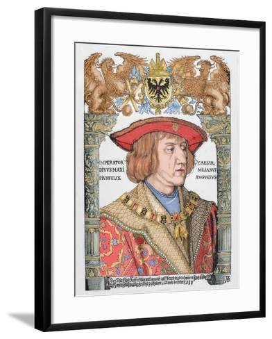 Maximilian I (1459-1519), Holy Roman Emperor--Framed Art Print