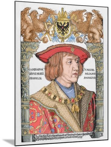 Maximilian I (1459-1519), Holy Roman Emperor--Mounted Giclee Print