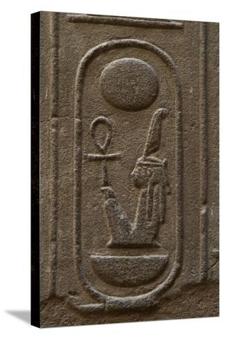 Maat, Goddess of Wisdom, Justice and Truth--Stretched Canvas Print