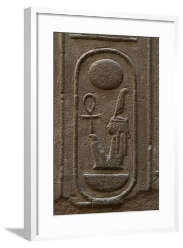 Maat, Goddess of Wisdom, Justice and Truth--Framed Art Print