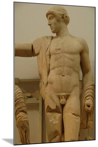 Apollo. Decoration of the Temple of Zeus in the Sanctuary of Olympia. Greece--Mounted Giclee Print
