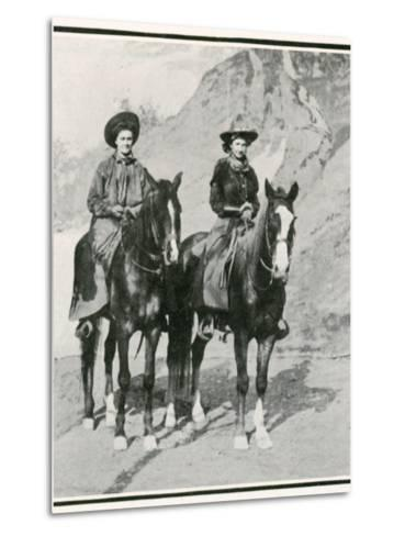 The Opening of the Golden West Exhibition at Earl's Court: How the Divided Skirt Works--Metal Print