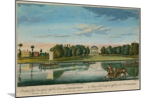 A View of the Countess of Suffolk's House Near Twickenham--Mounted Giclee Print