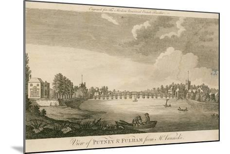 View of Putney and Fulham from Mr Vanneck's--Mounted Giclee Print