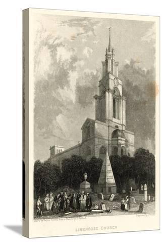 Limehouse Church; St Anne's Church, Limehouse, London-Hablot Knight Browne-Stretched Canvas Print