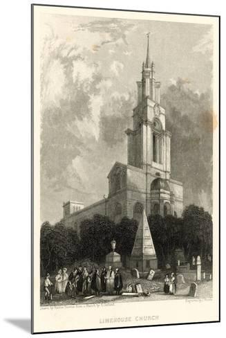 Limehouse Church; St Anne's Church, Limehouse, London-Hablot Knight Browne-Mounted Giclee Print