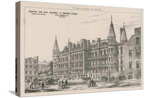 Hospital for Sick Children, Great Ormond Street--Stretched Canvas Print