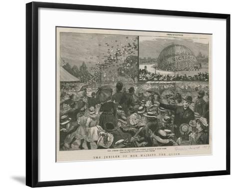 The Jubilee Fete to the Children of London Schools in Hyde Park--Framed Art Print