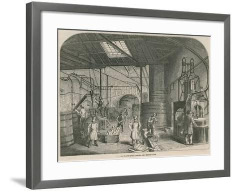 Price's Patent Candle Company's Works; the Steam Boiling and Engine House--Framed Art Print