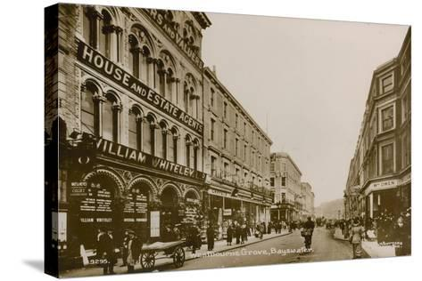 Westbourne Grove, Bayswater, London--Stretched Canvas Print