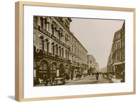 Westbourne Grove, Bayswater, London--Framed Art Print
