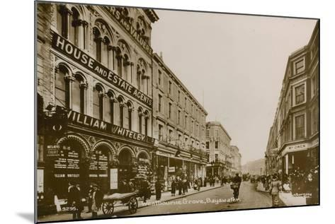 Westbourne Grove, Bayswater, London--Mounted Photographic Print
