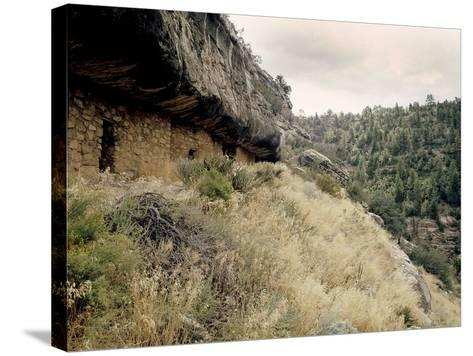 Walnut Canyon--Stretched Canvas Print