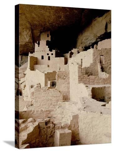 Cliff Dwelling at Mesa Verde--Stretched Canvas Print
