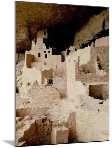 Cliff Dwelling at Mesa Verde--Mounted Giclee Print