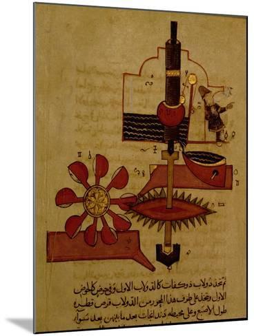 Miniature from a Mamluk Copy of the 'Automata of Al Jaziri' or the 'Book of Knowledge of…--Mounted Giclee Print