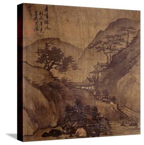 Album Painting by an Unknown Artist--Stretched Canvas Print